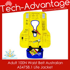ADULTS OFFSHORE 100N WAIST COMPACT WAIST-BELT PFD INFLATABLE BOAT LIFE JACKET