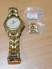 Vintage TAG Professional Yellow-Gold Link Date Watch Analog Sapphire 200m