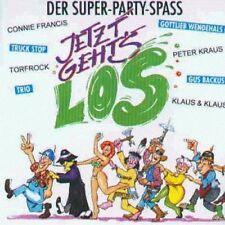 Jetzt geht's los-Der Super-Party-Spass (Polydor) Connie Francis, Gus Ba.. [2 CD]