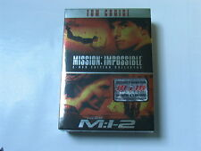MISSION IMPOSSIBLE 1 & 2  COFFRET  EDITION  COLLECTOR   3 DVD NEUF