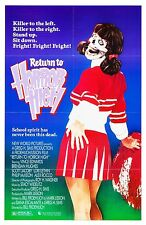 RETURN TO HORROR HIGH (1986) ORIGINAL MOVIE POSTER  -  FOLDED