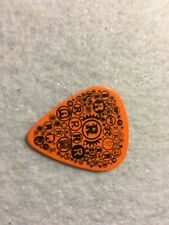 Guitar Pick Rick Nielsen Cheap Trick tour issue orange pick No lot