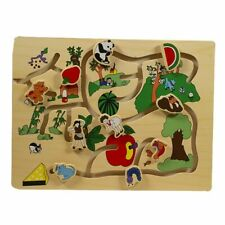 Puzzle circuit en bois  - WOOD'N PLAY