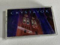 Crystavox Self Titled Cassette Tape 1990 Regency Records Melodic Heavy Metal