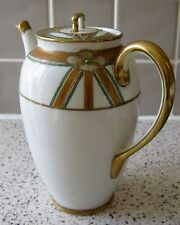 Vintage NIPPON Hand-Painted Porcelain Teapot