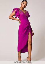 Virgos Lounge  Embellished Pink Olympia  Wedding Cocktail Holiday Dress#Asos