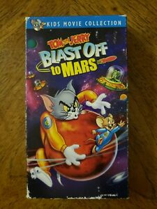 Tom and Jerry - Blast Off To Mars (VHS, 2005)