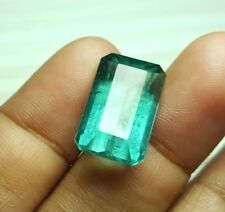 13.6 cts Beautiful Natural Greenish Blue TOURMALINE @Afghanistan. WOW!!