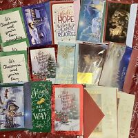 (Lot Of 16) Holiday CHRISTMAS CARDS, Unused Free Shipping