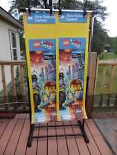 2 LEGO THE MOVIE VIDEO GAME  SIGN SMALL