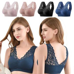 Women Bra 28-46 AA ABCD DD Leisure Vest Brassiere White Purple Lingerie Bralette