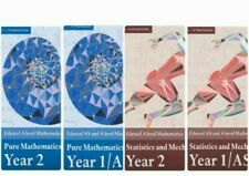 Edexcel AS/A Level Maths Textbook PDF Bundles- Year 1 And Year 2 All 4 Books .