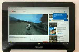 "Asus Chromebook Flip C100P TOUCHSCREEN 10.1"" (2GB, 16GB, Intel Celeron, 1.5GHz)"