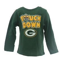 Green Bay Packers Official NFL Apparel Infant Toddler Size Long Sleeve Shirt