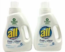 All Free & Clear Laundry Detergent 46.5 fl oz 2 Bottles