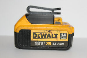 Black belt battery holder for DeWALT XR 18v