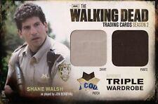 The Walking Dead Season 2, Shane Walsh Triple Wardrobe Redemption Card OM9