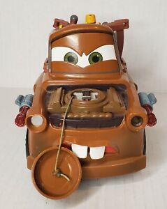 Disney Cars 2 Spy Missles Mater Transforming Truck Lights Up