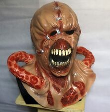 NEMESIS DELUXE LATEX MASK RESIDENT EVIL 3 ZOMBIE FANCY DRESS COSPLAY HALLOWEEN