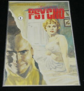 PSYCHO COMIC BOOK ISSUE No. 1, ALRED HITCHCOCK MOVIE STORY, INNOVATION 1992
