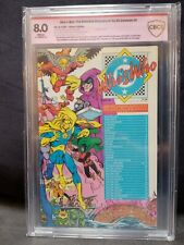 WHO'S WHO IN THE DC UNIVERSE #6 CBCS 8.0 Signed 10x Jack Kirby(4x) and 6 Others!