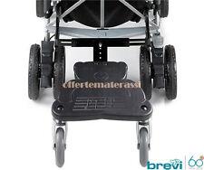 Brevi Wally pedana portabambino per tutti i passeggini con asse posteriore