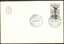 Trieste AMG-F.T.T. Postal mail by Helicopter Elico FDC cover (265)
