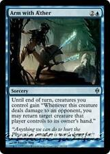 ARM WITH AETHER (ÆTHER) New Phyrexia MTG Blue Sorcery Unc