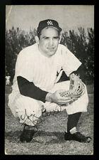 1956 J. D. MCCARTHY YOGI BERRA POSTCARD (PC) POSTMARKED SEPTEMBER 29, 1956 IN NY