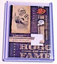 2004 Playoff Hogg Heaven Bronze Hogg of Fame Jersey Peyton Manning /150 Colts