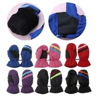 2-5y Baby Mitten Winter Kids Boys Girls Outdoor Warm Gloves Waterproof Windproof