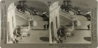 FRANCE Nice Riviera Promenade des Anglais Photo Stereo Vintage Argentique PL62L9