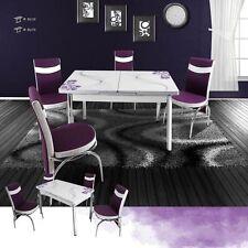 Markenlose Tisch- & Stuhl-Sets aus Glas in aktuellem Design