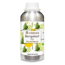 Bergamot (Citrus aurantium) Pure Essential Oil 2000ml/67fl oz