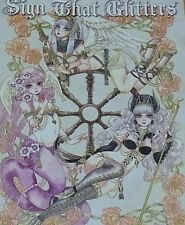 Sakizo Color Illustration Art Book Sign That Glitters Sakizou C88