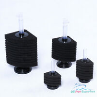 Corner Bio Sponge Filter Breeding Shrimp Nano Fish Tank Aquarium Up to 90 Gal