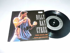 """BILLY RAY CYRUS - These Boots Are Made For Walkin' - 1992 UK 2-track 7"""" Single"""