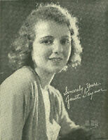 Janet Gaynor Actress Sincerely Yours Hal Phyfe  B/W picture  8x10