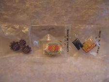 Lot of McDonald's Crew Pins - Tier Challenge, Go Go Gadget, Penn Lapel/Hat Pins