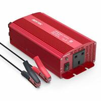 BESTEK 1000W Car Power Inverter 12V DC to 220V AC Socket Converter with Clip