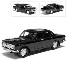 GAZ 24 Volga Metal Model Diecast Car Scale, Collectible Toy Cars, Black, 1/36