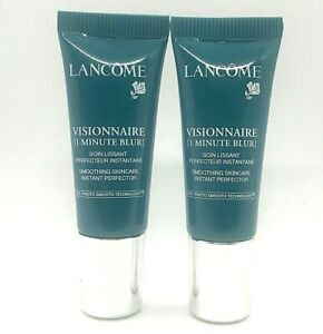 Lot/2 Lancome Visionnaire 1 Minute Blur Smoothing Skincare ~ 7 ml x 2