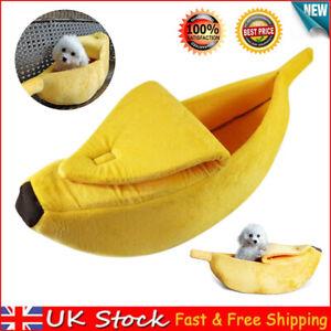 Banana Shape Pets Dog Cat Bed House Mat Puppy Soft Pet Sofa Cute Basket For Cats