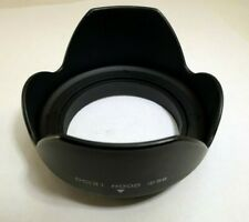 Plastic 58mm Lens Hood screw in petal flower type 18-55mm IS