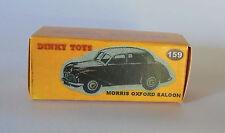 Repro Box Dinky Nr.159 Morris Oxford Saloon braun
