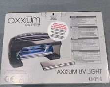 🔥 OPI Axxium Gel UV Light Cure System Nails AX900 Lamp Complete W/ Hand Rest