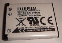 batteria originale FUJIFILM NP-45 Casio Exilim EX-Z270