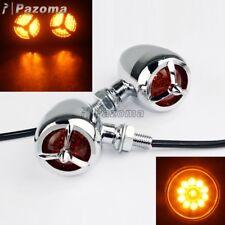 LED Turn Signal Light Indicator Blinker Lamp Universal For Motorcycle Dirt Bike