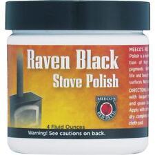 Meeco´s Red Devil Black 4 Oz Cast Iron Steel Stove Polish Paste 402