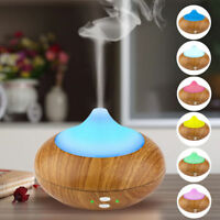 140ML Oil Aroma Diffuser Ultrasonic Humidifier Air Mist Aromatherapy Purifier
